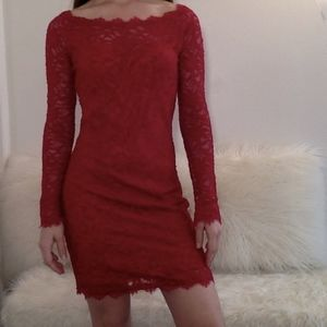Lacey Body-con Dress